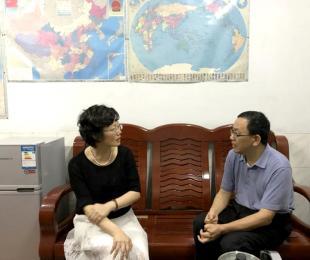 张文珍副市长莅临我校指导工作