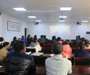 三明二中组织收看庆祝改革开放40周年大会